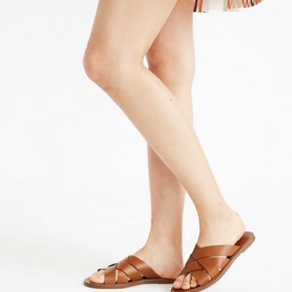 55e68c265cd4 Madewell Shoes - ✨ NWOT Madewell The Boardwalk Woven Slide Sandal
